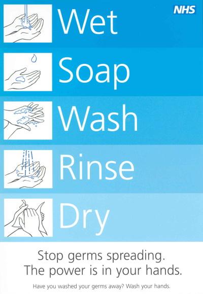 NHS hand washing