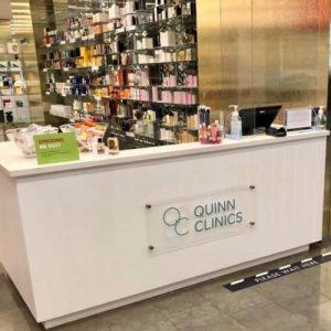 Harvey Nichols Quinn Clinics Reception