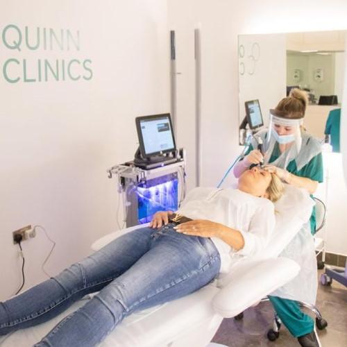 facial at quinn clinics harvey nichols