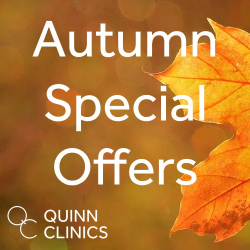 Autumn Special Offers – Skin & Body Treatments